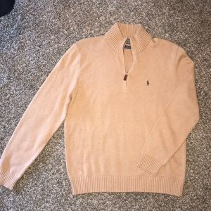 Men's Polo Pullover Sweater.